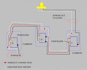 Four Way Switch Diagram