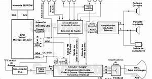 Wg Mrtv  Diagrama A Bloques De Un Televisor