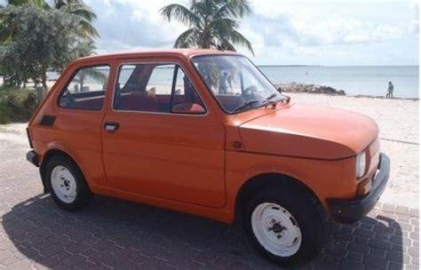 Obrien Fiat by 1981 Polsko Fiat 126p Want Fiat Fiat 126 Cars