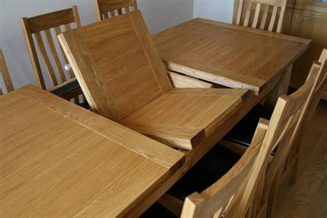 Oak Extending Dining Tables 6 / 8 People Chairs Seater