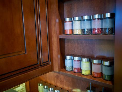 Spice Racks for Cabinets: Pictures, Ideas & Tips From HGTV