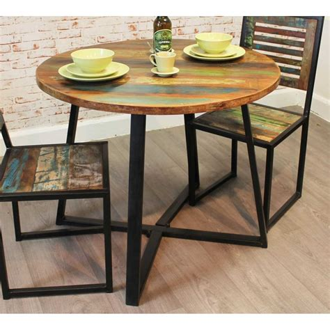 cm  kitchen dining table rustic reclaimed painted