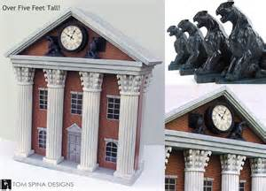 Back to the Future Clock Tower Prop