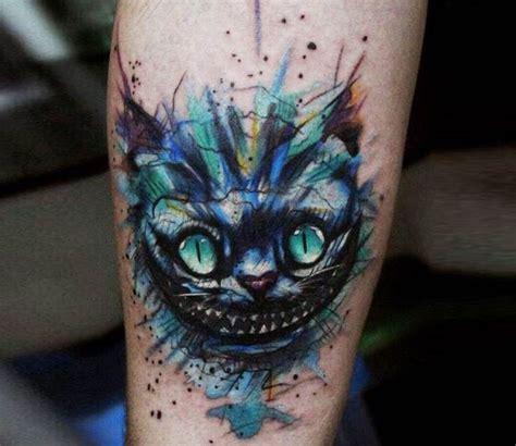 cheshire cat tattoo  andrey stepanov cat tattoo