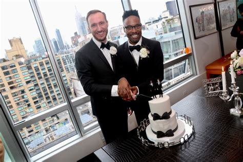 Exclusive Inside Billy Porter Wedding Playbill