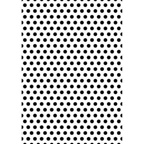 papier cadeau petit pois noir sur blanc