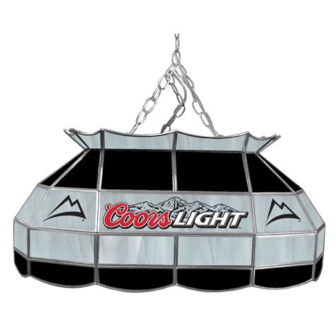 coors pool table light coors light 28 inch stained glass pool table l
