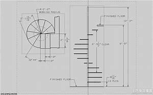 简单旋转楼梯平面图_土巴兔装修效果图