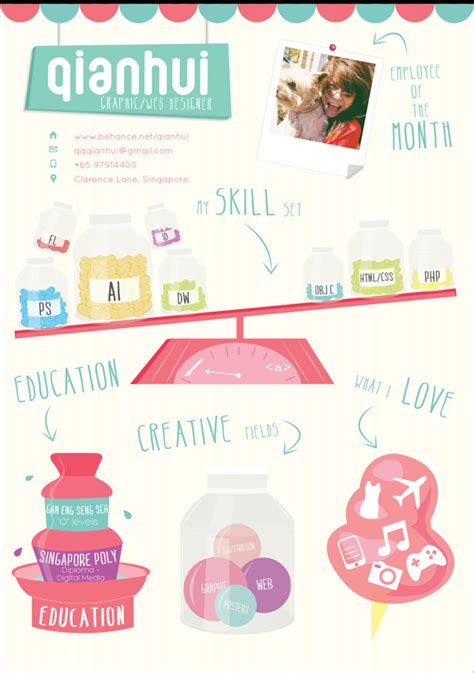 Contoh Resume Graphic Designer by 50 Awesome Resume Designs That Will Bag The Hongkiat