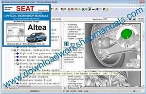 Seat Altea Workshop Repair Manual