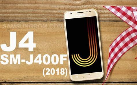 samsung galaxy j4 sm j400f j400fxxu1are2 firmware needrombd