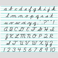 Looking For A Cursive Font Like D'nealian Cursive  Graphic Design Stack Exchange