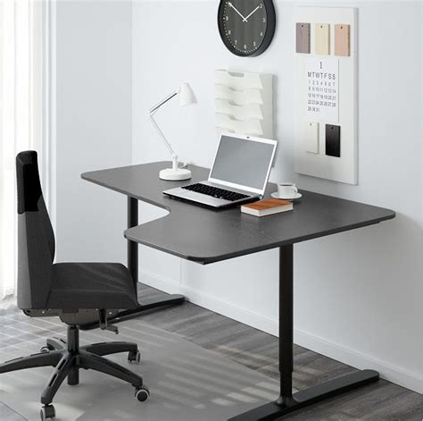 home office standing desk bekant standing desk by ikea ergonomic office furniture
