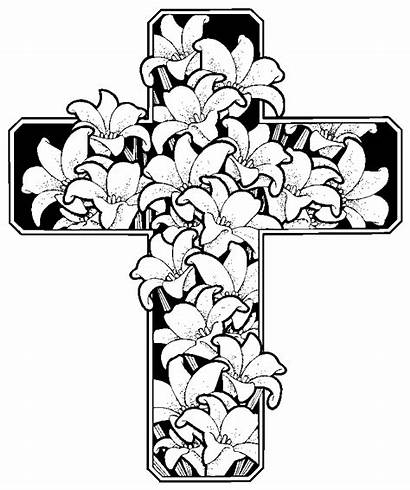Coloring Pages Easter Christian Religious Printable Colouring