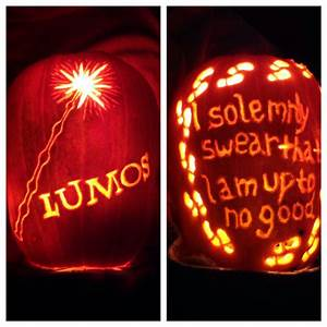 27 literary jack o lanterns inspired by your favorite books With harry potter pumpkin carving templates