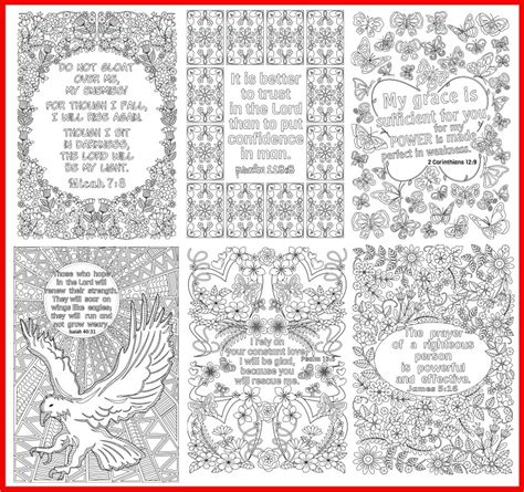 Coloring Journal by 14 Bible Verse Coloring Pages Plus 3 Coloring Journal