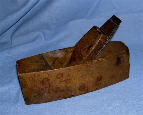 antique hand crafted wood block plane  hargraeves