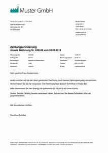 Rechnung Höher Als Angebot : mahnung muster vorlage zum mahnung schreiben ~ Lizthompson.info Haus und Dekorationen
