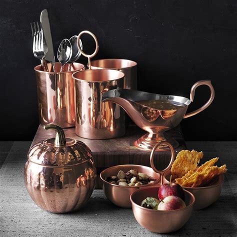copper cutlery caddy williams sonoma au