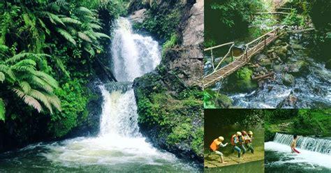 wisata seru  curug tilu leuwi opat parongpong kab