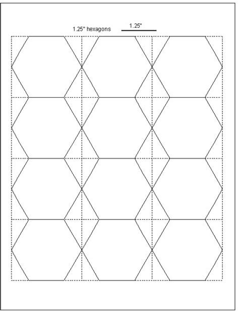 Tips For Cutting Hexagon Templates  Geta's Quilting Studio