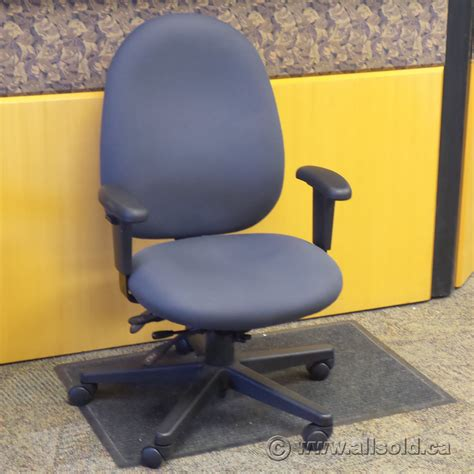 grey fully adjustable ergonomic rolling task chair grade