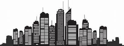 Skyline Silhouette Building York Cityscape Clipart Freepngclipart