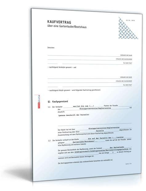 Kaufvertrag Garten  Rechtssicheres Muster Zum Download