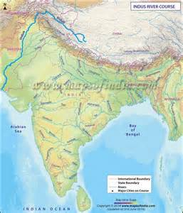 Indus River India Map