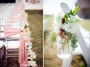 chair sash ideas top 5 ways to decorate your wedding aisle