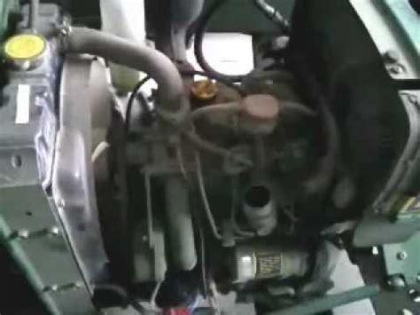 engine rebuild on a deere 650 tractor