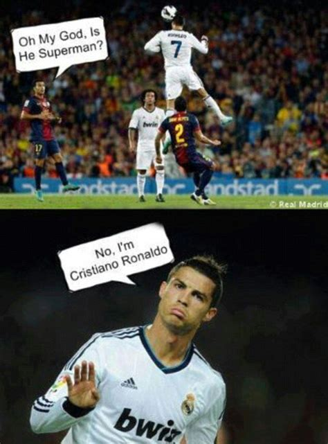 CR 7 after beating Barca.   Ronaldo, Ronaldo memes ...