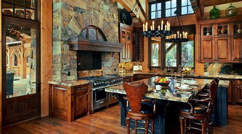 cabin kitchen design ideas 15 warm cozy rustic kitchen designs for your cabin 5047