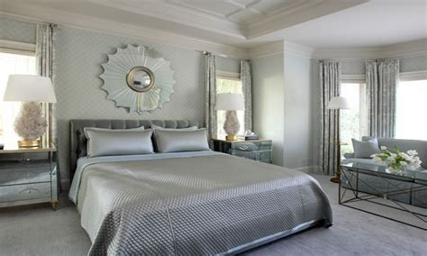 Silver Bedroom Ideas, Silver Grey Bedding Silver Blue And