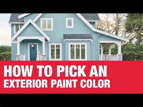 how to choose an exterior paint color ace hardware