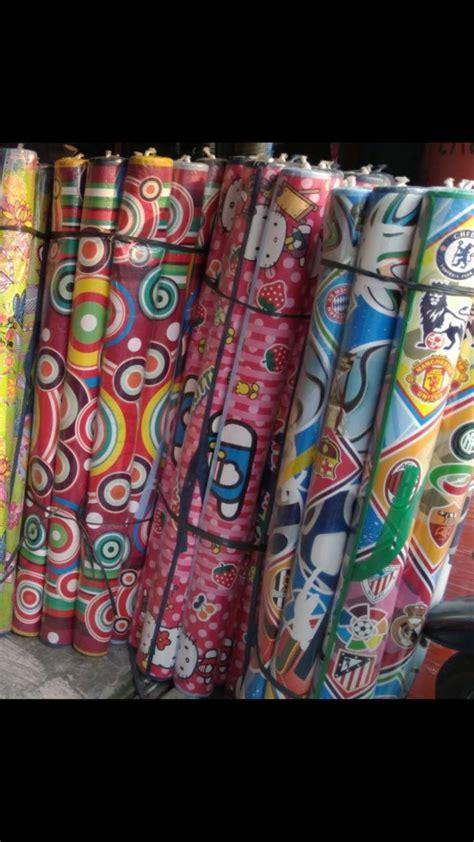 Karpet Karakter Kotak jual karpet motif karpet karakter tikar matras plastik