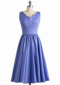 periwinkle and a smile dress mod retro vintage dresses With periwinkle dress for wedding