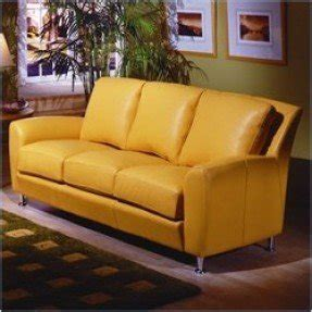 Yellow Leather Sofa And Loveseat by Yellow Leather Sofas Foter