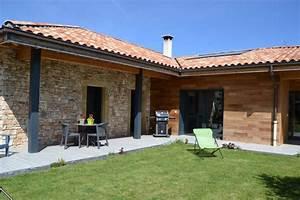Ossature Bois Maison : fabricant de maison ossature bois passive sur mesure en ~ Melissatoandfro.com Idées de Décoration