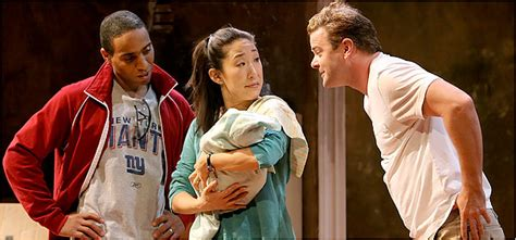 sandra oh new york times satellites review theater the new york times