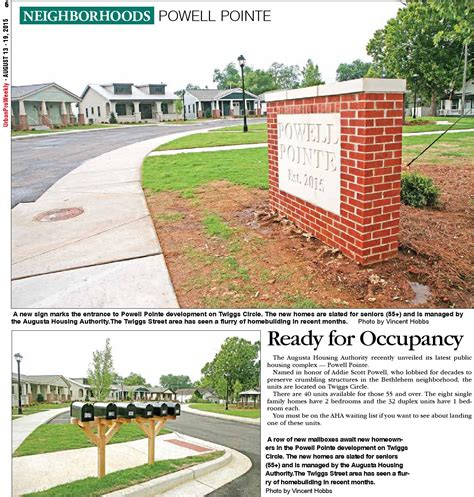 Augusta Housing Authority by Upw Pro Weekly By Navi H Issuu