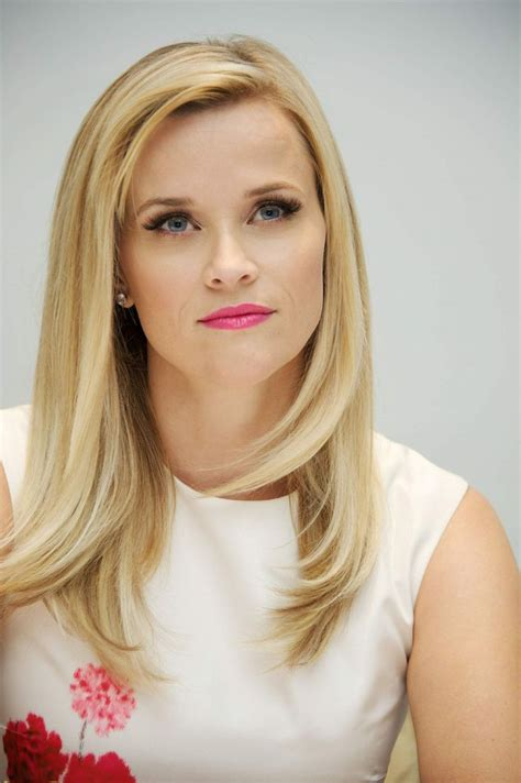 Legally Hairstyles by Reese Witherspoon Press Conference At The Four