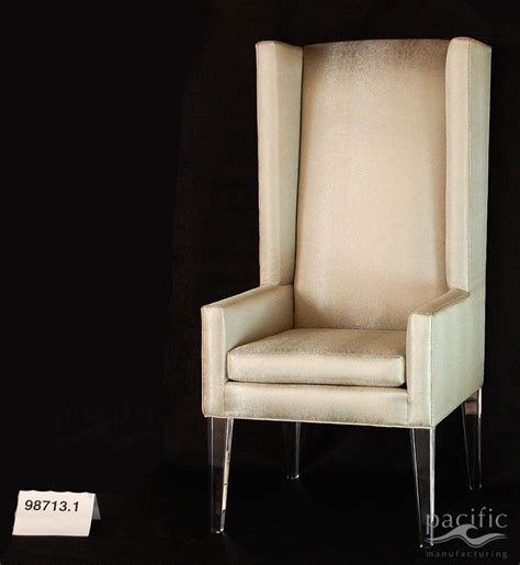 custom  acrylic leg dining chairs  pacific mfg
