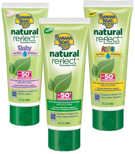 Banana Boat Sunscreen Good Or Bad by Introducing Banana Boat Natural Reflect Sunblock Life