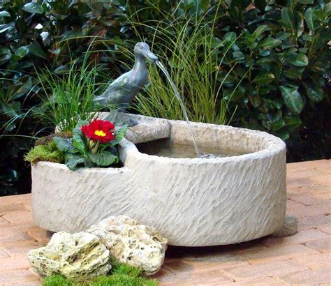 Springbrunnen Für Terrasse by Springbrunnen Brunnen Wasserspiel Werksandstein Stein 74kg
