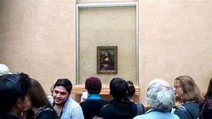 Mona Lisa The Original Painting in Louvre Museum Paris ...