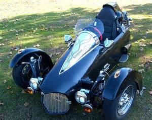 Enclosed Reverse Trike Motorcycle