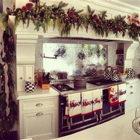 christmas decorations for kitchen shabby in love christmas kitchen decor ideas