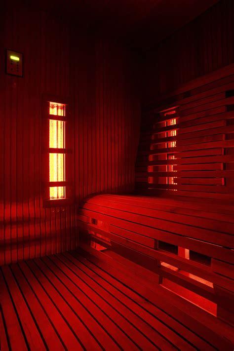infrared  traditional sauna  sauna