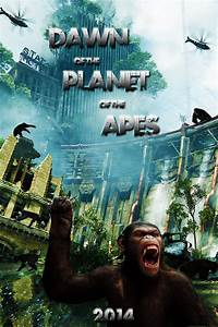 Rise of the Planet of the Apes sequel movie poster by ...